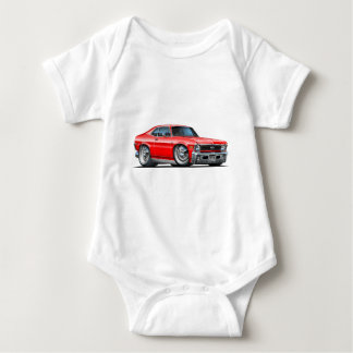 Chevy Nova-Rot-Auto Baby Strampler