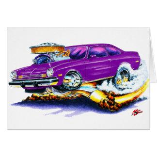 Chevy Vega lila Auto Karte