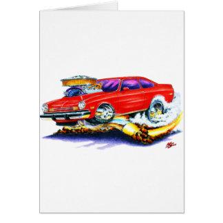 Chevy Vega Rot-Auto Karte