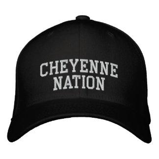 Cheyenne-Nation Bestickte Kappe