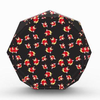 Chi pattern-01 acryl auszeichnung