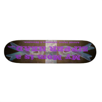 Chiari-Malformation-Stützbewusstsein Individuelles Skateboard