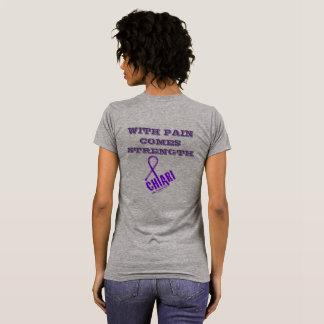 Chiari mit den Schmerz kommt Stärke T-Shirt