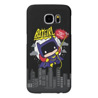 Chibi Batgirl bereit zur Aktion
