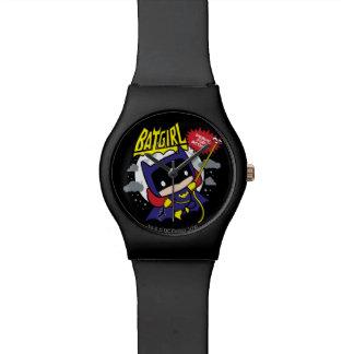 Chibi Batgirl bereit zur Aktion Armbanduhr