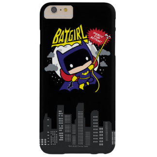 Chibi Batgirl bereit zur Aktion Barely There iPhone 6 Plus Hülle