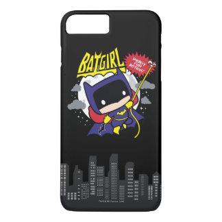 Chibi Batgirl bereit zur Aktion iPhone 8 Plus/7 Plus Hülle