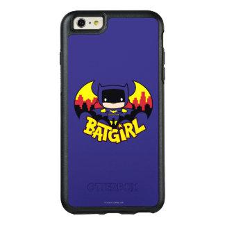 Chibi Batgirl mit Gotham Skylinen u. Logo OtterBox iPhone 6/6s Plus Hülle