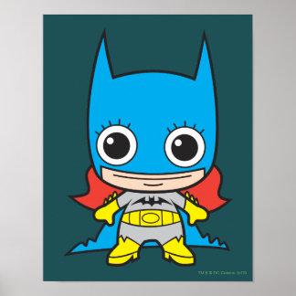 Chibi Batgirl Poster