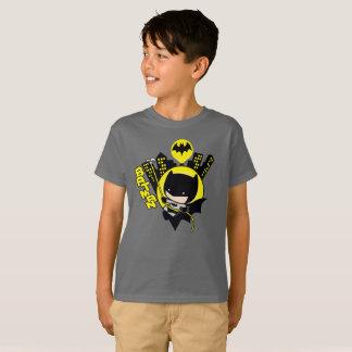 Chibi Batman, der die Stadt einstuft T-Shirt
