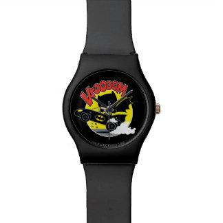 Chibi Batman im Batmobile Armbanduhr