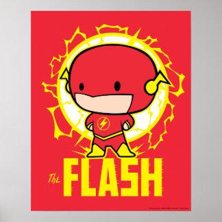 Chibi Blitz mit Strom Poster