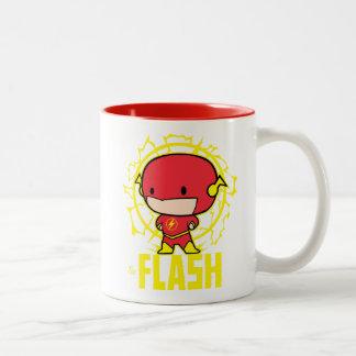 Chibi Blitz mit Strom Zweifarbige Tasse