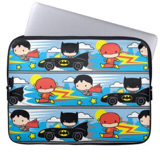 Chibi Blitz, Supermann und Batman, der Muster Laptopschutzhülle
