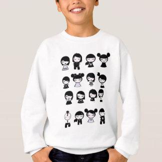 Chibi Emo Goth Sweatshirt