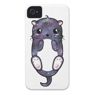 Chibi Galaxie-Otter iPhone 4 Case-Mate Hülle