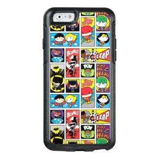 Chibi Gerechtigkeits-Liga-Zusammenstellungs-Muster OtterBox iPhone 6/6s Hülle