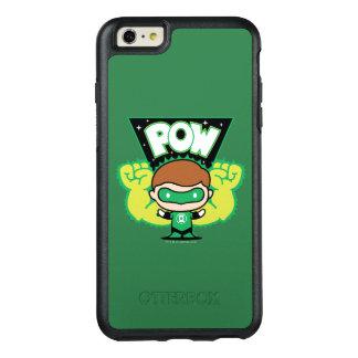 Chibi grüne Laterne, die riesige Fäuste bildet OtterBox iPhone 6/6s Plus Hülle