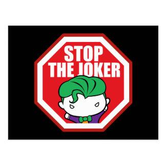 """Chibi """"Halt der Joker-"""" Zeichen Postkarten"""