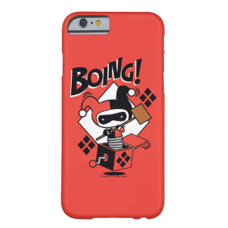 Chibi Harley-Quinn-In-EIN-Box mit Hammer Barely There iPhone 6 Hülle