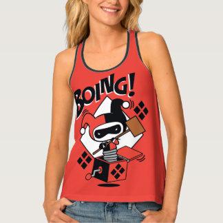 Chibi Harley-Quinn-In-EIN-Box mit Hammer Tanktop