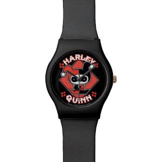 Chibi Harley Quinn Spalten Armbanduhr