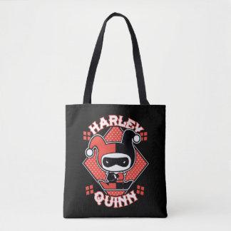 Chibi Harley Quinn Spalten Tasche