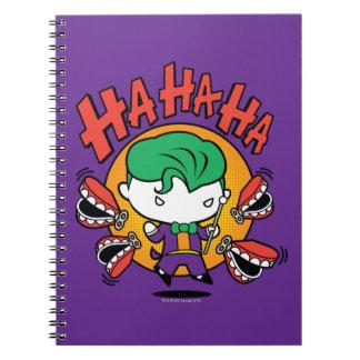 Chibi Joker mit den Spielzeug-Zähnen Notizblock