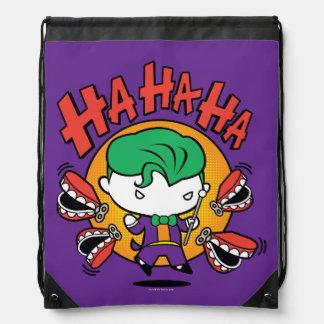 Chibi Joker mit den Spielzeug-Zähnen Sportbeutel