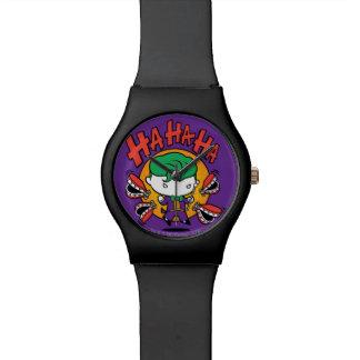 Chibi Joker mit den Spielzeug-Zähnen Uhr