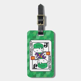 Chibi Joker-Spielkarte Gepäckanhänger
