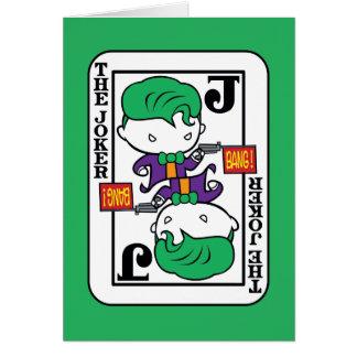 Chibi Joker-Spielkarte Karte