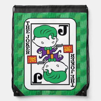 Chibi Joker-Spielkarte Turnbeutel