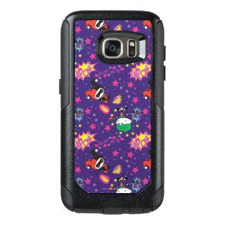 Chibi Joker-und Harley Muster OtterBox Samsung Galaxy S7 Hülle