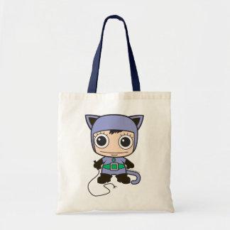 Chibi Katzen-Frau Tasche