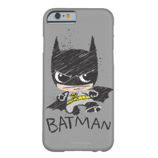 Chibi klassische Batman Skizze Barely There iPhone 6 Hülle