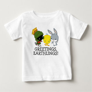 Chibi MARVIN das MARTIAN™, TWEETY™ u. BUGS BUNNY ™ Baby T-shirt