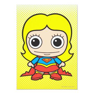 Chibi Supergirl 12,7 X 17,8 Cm Einladungskarte