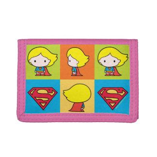Chibi Supergirl Charakter-Rücklauf