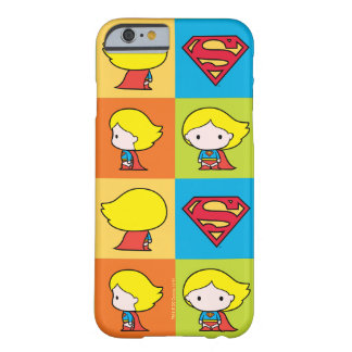 Chibi Supergirl Charakter-Rücklauf Barely There iPhone 6 Hülle