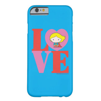 Chibi Supergirl LIEBE Barely There iPhone 6 Hülle