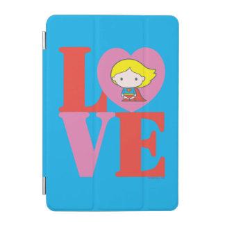 Chibi Supergirl LIEBE iPad Mini Cover