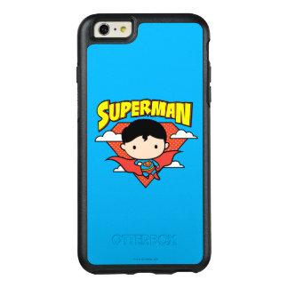 Chibi Supermann-Tupfen-Schild und Name OtterBox iPhone 6/6s Plus Hülle