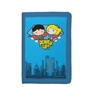 Chibi Supermann u. Chibi Supergirl Power oben!