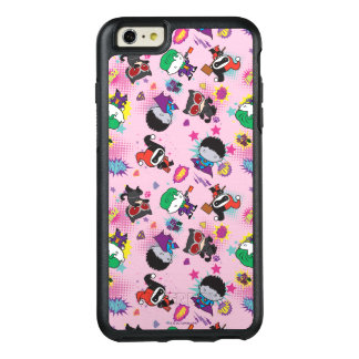 Chibi Superschuft-Aktions-Muster OtterBox iPhone 6/6s Plus Hülle