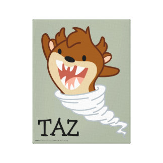 Chibi Tornado TAZ™ Leinwanddruck