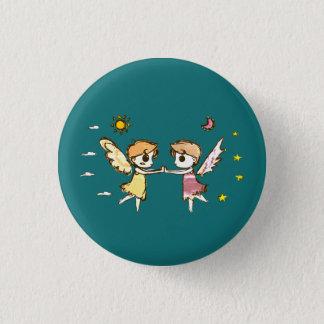 Chibi Wächter Runder Button 2,5 Cm