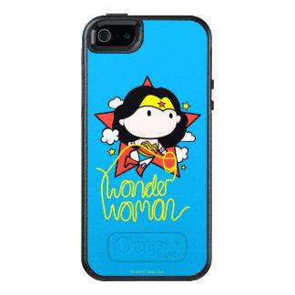 Chibi Wunder-Frauen-Fliegen mit Lasso OtterBox iPhone 5/5s/SE Hülle