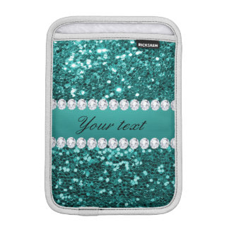 Chic-aquamariner Imitat-Glitter und Diamanten Sleeve Für iPad Mini