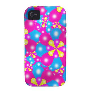 Chic-Ballon-Blüten Iphone 4/4S Case-Mate-Fall iPhone 4/4S Case
